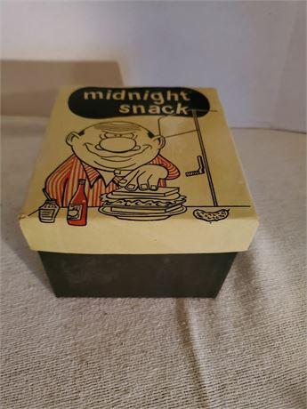 Vintage Midnight Snack Gag Gift