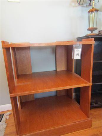 Solid Wood Open Shelf Storage