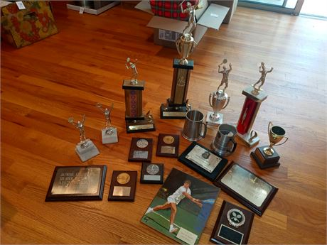 Trophies and plaques