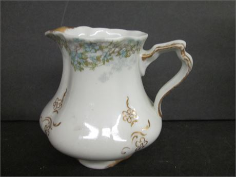 """Antique Fancy 5"""" OF Co Syracuse China Victorian Creamer Pitcher"""