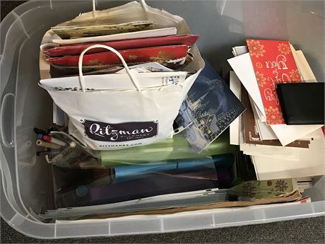 Office and Greeting Card Lot