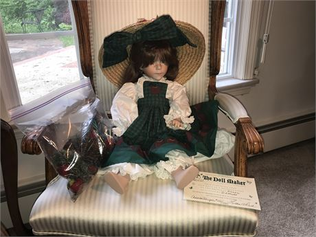 The Doll Maker D Effner - Willow Reproduction - Apple Abigaile  152/1500