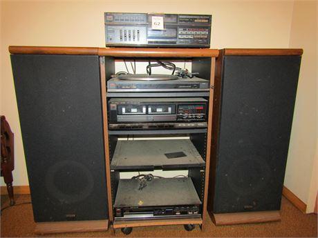 Fisher Studio Standard Multisystem Entertainment Center