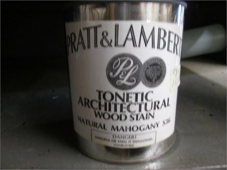 1 - Qts Pratt & Lambert Tonetic Wood Natural Mahogany Stains