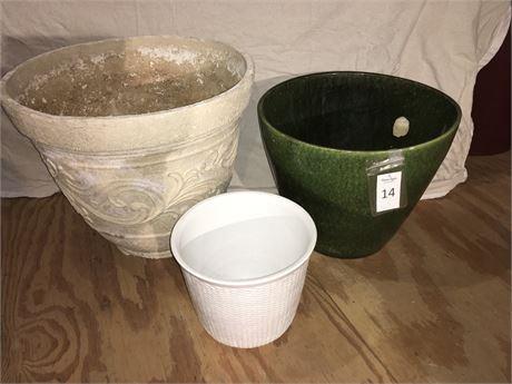 Ceramic Planters and More