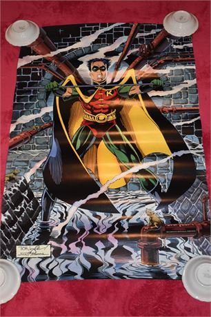 "Scott Hanna/Tom Lyle ""ROBIN"" poster 1993-Batman and Robin"