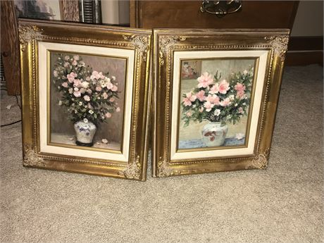 Wall Decor Lot - 2 matching pieces
