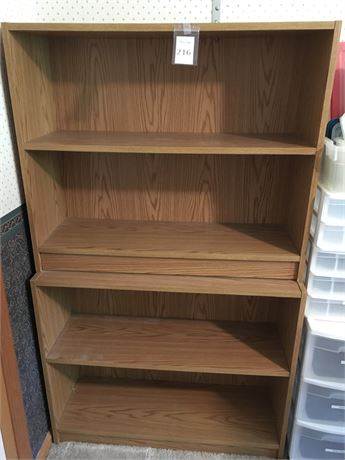 Two Matching Bookcases