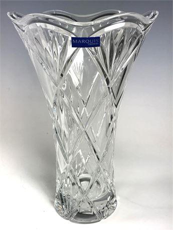 """Waterford Marquis Honour 10:"""" Vase NIB"""