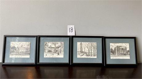 Framed Art Prints of Bay Village, Ohio Scenes