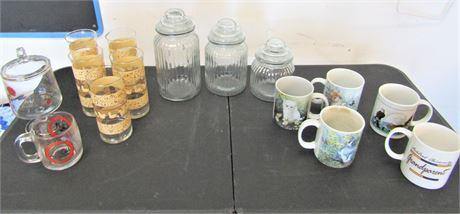 Glassware and Mugs