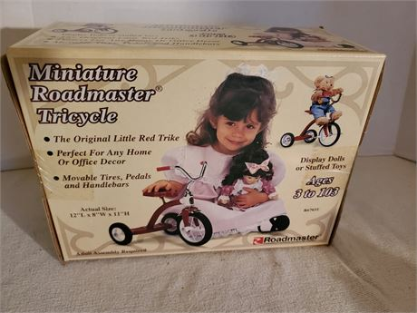 Miniature Roadmaster Tricycle NIB