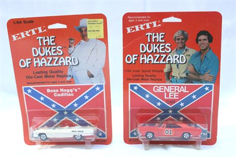 Dukes of Hazzard Toys 1981 Vintage in Original Packages