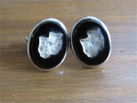 Comedy/Tragedy Cufflinks