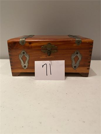 Vintage Wood Box/Chest