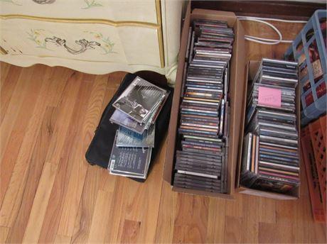 Music CD & Tape Lot
