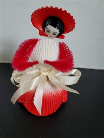Vintage Silly Sea Shell Doll