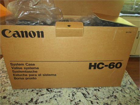 Cannon Camcorder HC 60 Vintage Like new Complete Cassette Recorder