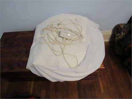 Twin Bed Heated Mattress Pad by Biddeford