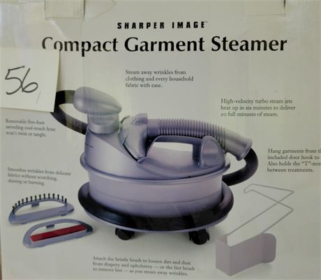 Sharper Image Compact Garment Steamer