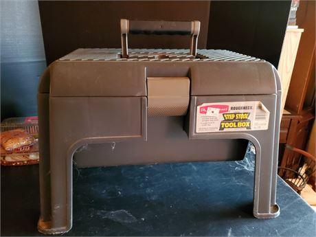 Rubbermaid Step Stool Tool Box