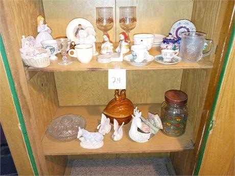 Closet knick knack cleanout