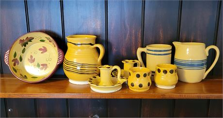 Yellow Pottery - Some Williamsburg