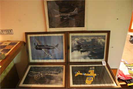 War Plane Frame Pieces