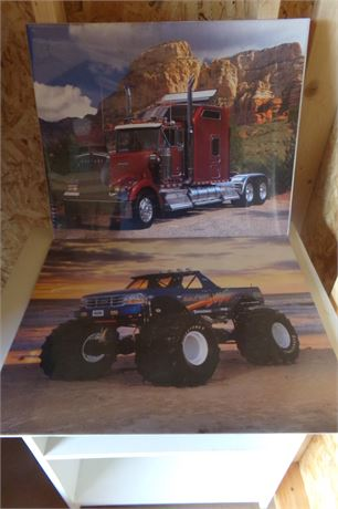 Bigfoot and Truck pictures