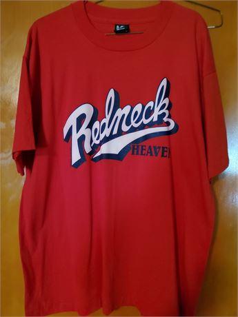 Redneck Heaven T Shirt XL