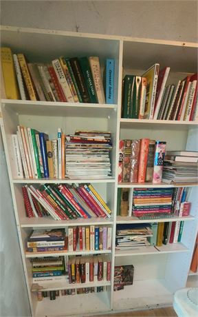 Large Assortment Of Cookbooks & More