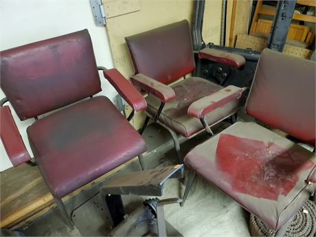 3 Cool Looking Vintage Chairs Cleaning Project
