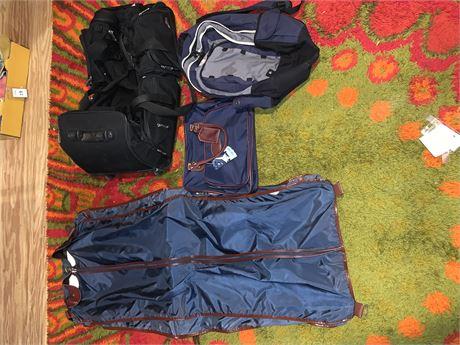 Starship Luggage, Monarch Garment  Bag, Skyway Rolling Duffle Bag