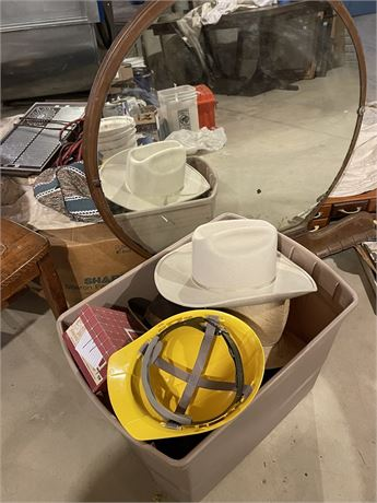 Mirror, Hats and More