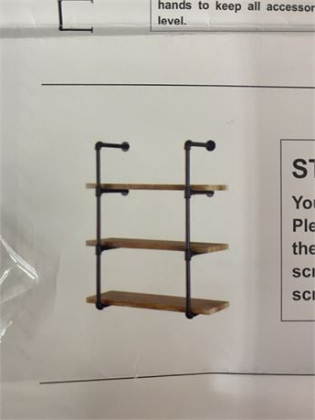 Industrial Wall Shelves.