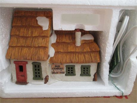 Vintage Dept 56 Dicken's A Christmas Carol 3 Pcs Heritage  Village Collectible