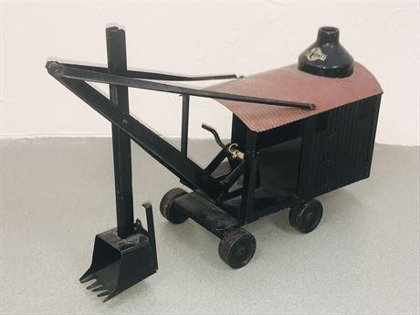 Antique Steelcraft Toy Steam Shovel Circa 1910 Marion, Ohio