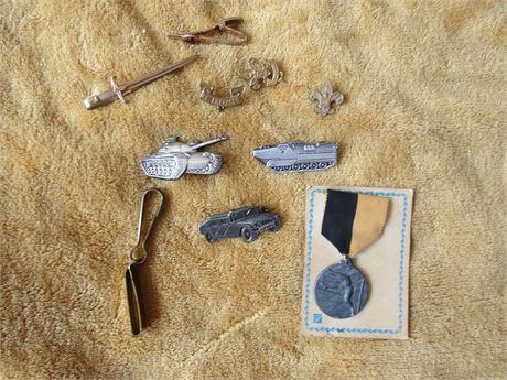 Military Pins & Jewelry, BSA Pins