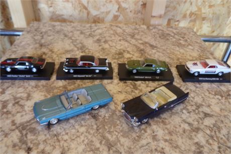 Assortment of collectible cars