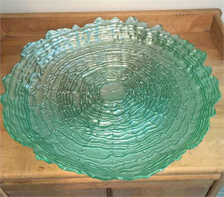 Handpainted Glass Bowl