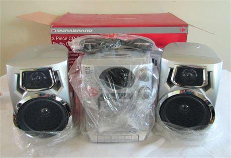 Durabrand Three Piece CD Player