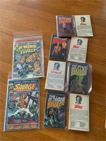 Vintage Issues of Marvel Comics