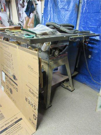 Sears Craftsman Table Saw w/ Vacuum