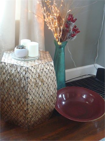 Occasional Table & Decor Items