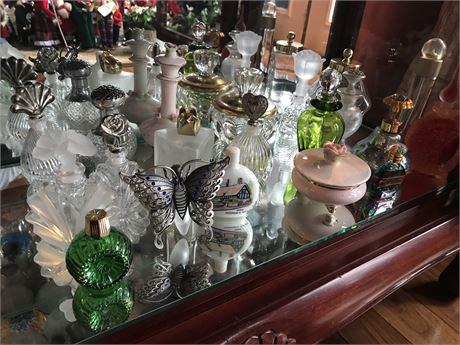 20 Ornate Perfume Bottles