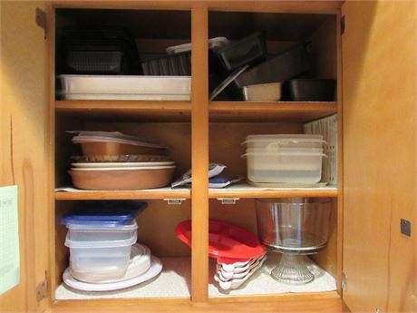 Kitchen Cupboard Clean Out