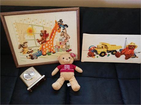 Teddy Bear Decor Lot