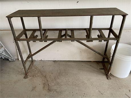 Steel Work Bench 1 of 2