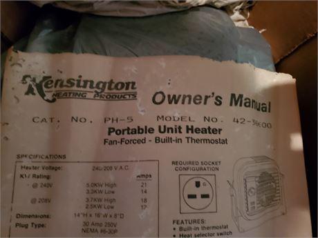 Kensington Portable Unit Heater