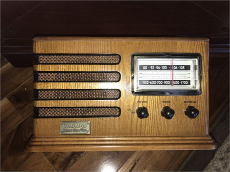 Thomas Reproduction Radio with Cassette Player